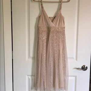 BCBG sequined cocktail dress